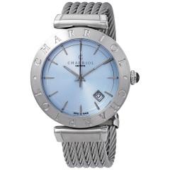 Charriol Stainless Steel Bracelet Mens, Blue Dial Wrist Watch ALSB.51.113