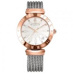 Charriol Lady Stainless Steel/Rose Gold Bracelet Alexandre C Watch AMP.51.013