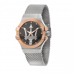 Maserati Gent Stainless Steel Bracelet Mesh Potenza Watch R8853108007