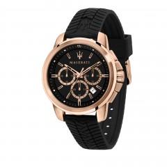 Maserati Mens Black Successo Watch R8871621012