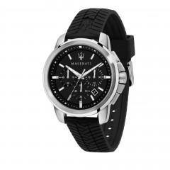 Maserati Chronograph Man Successo Black Watch R8871621014