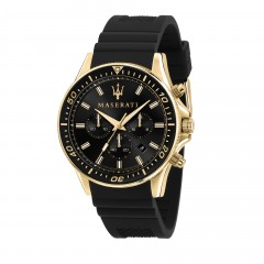 Maserati Gent Black Sfida Watch R8871640001