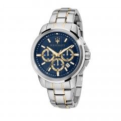 Masareti Gent Stainless Steel/Gold Analog Blue Dial Mens Watch R8873621016