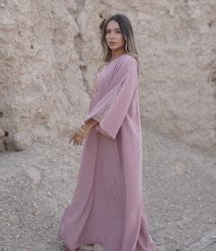 Rose Pink Jalabiya - XL - UK 14 - 60