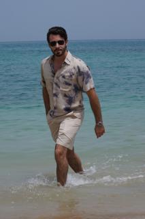Unisex Tie Dye Shirts - XL - Sand