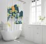 Shower Curtain&Bath Mat Sets-101