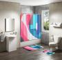 Shower Curtain&Bath Mat Sets-117
