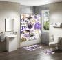 Shower Curtain&Bath Mat Sets-165