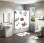 Shower Curtain&Bath Mat Sets-248