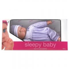 Sleepy Baby - Purple