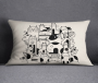 Multicoloured Cushion Covers 35x50 cm- 1342