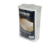Cannon Fitted Mattress Pad With Hanger -100/200