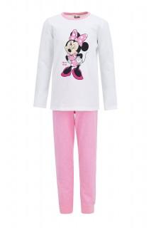 Girl's Knitted Pyjamas LT.PINK 3/4