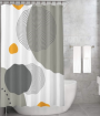 Bonamaison Shower Curtain, Size: 155x220 cm-150
