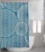 Bonamaison Shower Curtain, Size: 155x220 cm-151