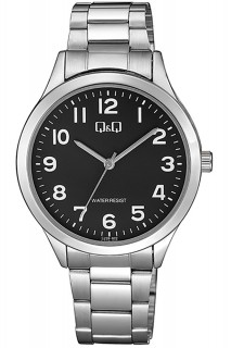 Q&Q Standard watch - GNT 3H SS BLK