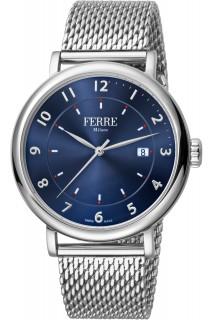 Ferrè Milano watch - GNT 3H SS BLU FM1G111M0051