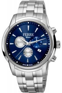 Ferrè Milano watch - GNT CHR SS BLU FM1G131M0051