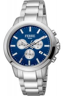 Ferrè Milano watch - GNT CHR SS BLU FM1G153M0061
