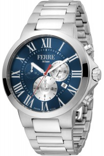 Ferrè Milano watch - GNT CHR SS BLU FM1G177M0061