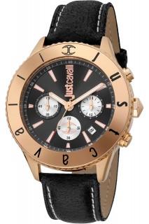 Just Cavalli Modern watch - GNT CHR LTH BLK