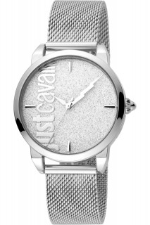 Just Cavalli Ladies Watch Relaxed JC1L079M0075 - Silver