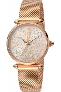 Just Cavalli Ladies Watch Animalier JC1L085M0075 - Rose Gold