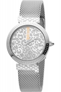 Just Cavalli Ladies Watch Animalier JC1L092M0055 - Silver