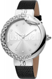 Just Cavalli Ladies Watch XL JC1L096L0015 - Black
