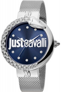 Just Cavalli Ladies Watch XL JC1L096M0075 - Silver