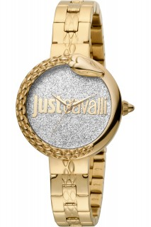 Just Cavalli Ladies Watch Animalier JC1L097M0125 - Gold