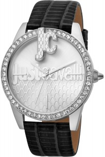 Just Cavalli Ladies Watch XL JC1L100L0015 - Black