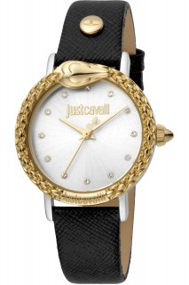 Just Cavalli Ladies Watch Animalier JC1L124L0035 -Black