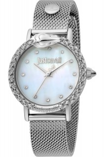 Just Cavalli Ladies Watch Animalier JC1L124M0055 - Silver