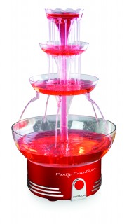 Retro Red - Party Fountain