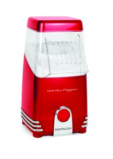 Retro Red Mini Hot Air Popcorn Maker