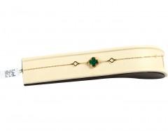 Gold Bracelet in 18K. Inspired by Vancleef Design.