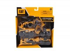 "Cat Mini Machines 3"" 5Pack"