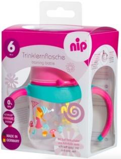 nip Training bottles- pink