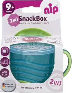 nip SnackBox 2in1- green