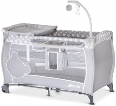 Hauck Babycenter Compact Folding Travel Crib