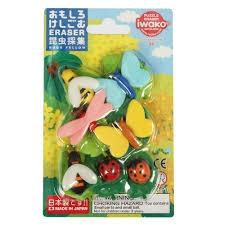 Iwako Bugs World Eraser
