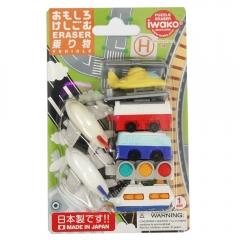 Iwako Vehicles Eraser