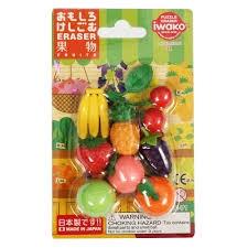 Iwako Fruit Eraser
