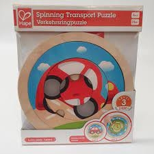 Spinning Transport Puzzle