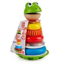 Mr. Frog Stacking Rings