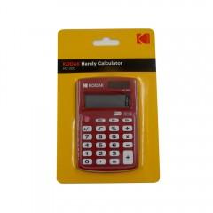 Kodak Hc-205 8 Digit Handy Calculator Kt-187Ap Red