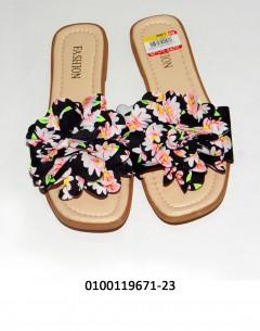 Gift Island Fashion Ladies Flat Multicoloured 45