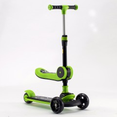 2 In 1 Scooter With Seat