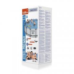 Bway Poolset Steel Pro Max 488X122